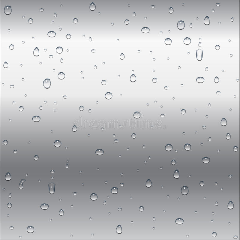 O metal branco e cinzento abstrato (alumínio, prata, aço) gradien ilustração do vetor