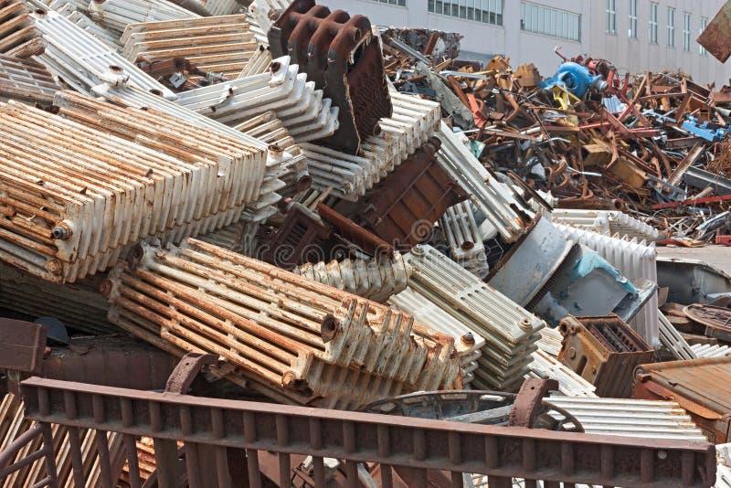O metal recicl imagem de stock