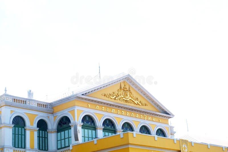 O ministério de defesa em Banguecoque, Tailândia imagens de stock royalty free