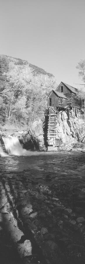 O moinho do rio imagens de stock
