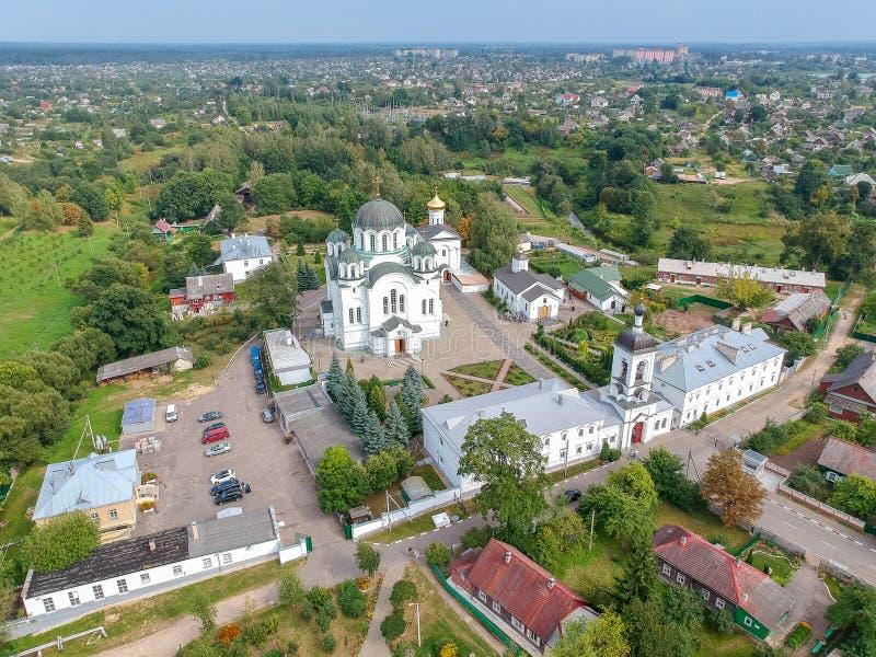 O monastério da mulher de Polotsk, Bielorrússia foto de stock royalty free