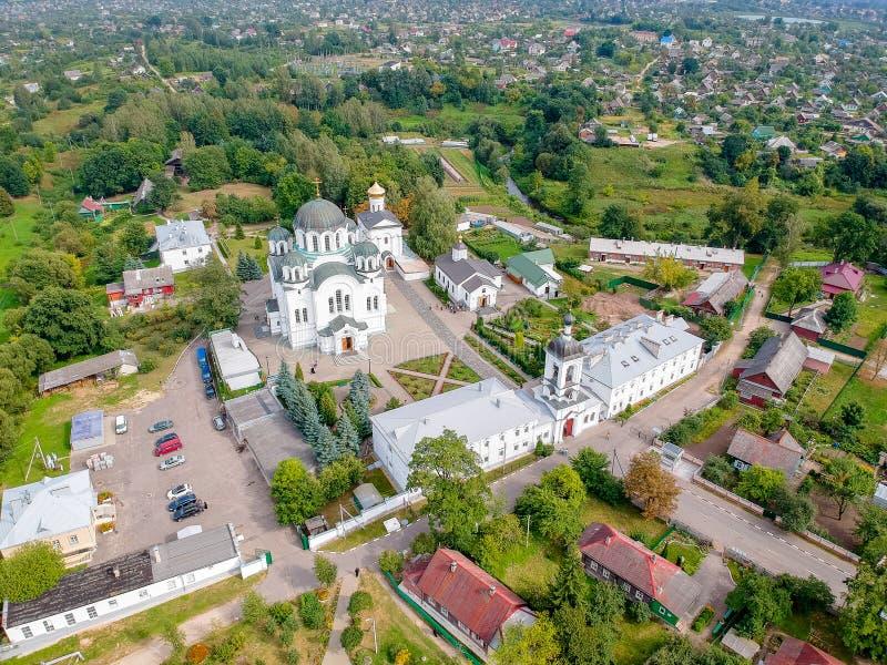 O monastério da mulher de Polotsk, Bielorrússia imagem de stock