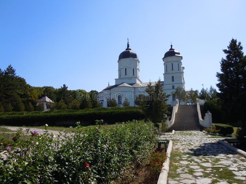 O monastério de Celic-Dere, área de Dobrogea, Romênia imagem de stock royalty free