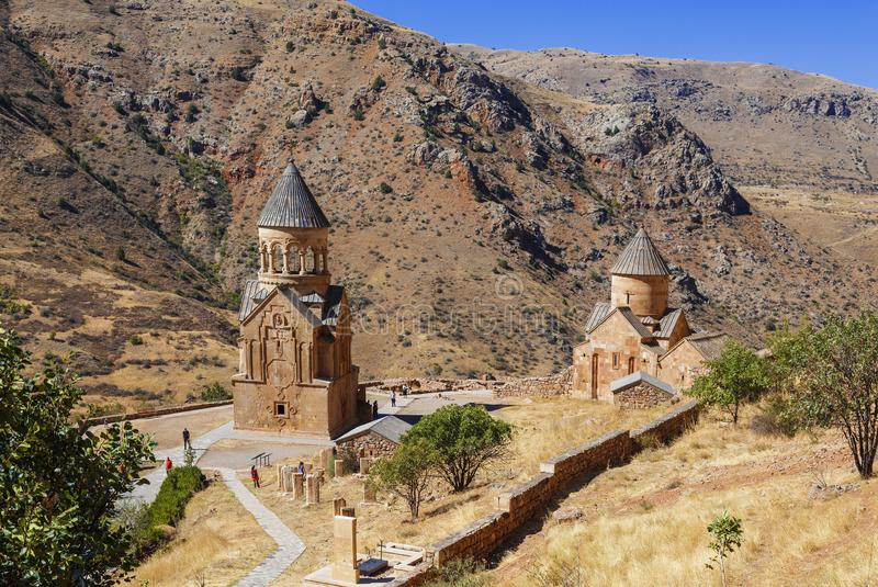 O monastério medieval de Noravank em Armênia Foi fundado em 1205 imagem de stock