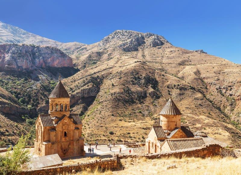O monastério medieval de Noravank em Armênia Foi fundado em 1205 fotografia de stock