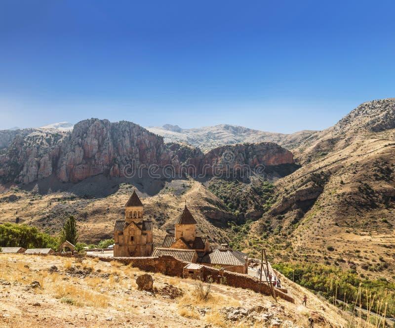 O monastério medieval de Noravank em Armênia Foi fundado em 1205 fotos de stock royalty free