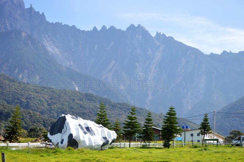O Monte Kinabalu em Sabah Malaysia imagem de stock royalty free
