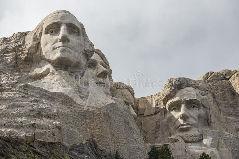 O Monte Rushmore foto de stock royalty free