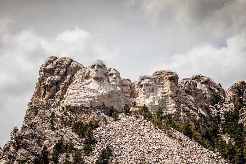 O Monte Rushmore fotos de stock royalty free