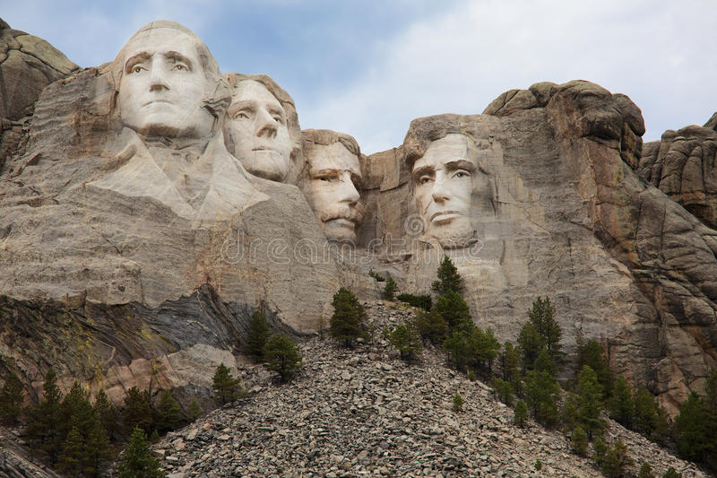 O Monte Rushmore, Black Hills, South Dakota imagem de stock