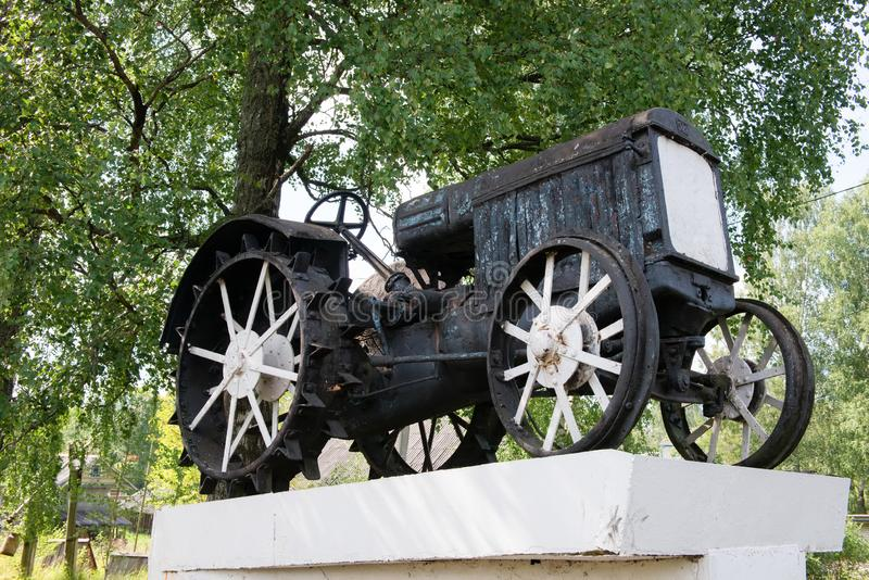 O monumento aos primeiros operadores de máquina imagens de stock royalty free