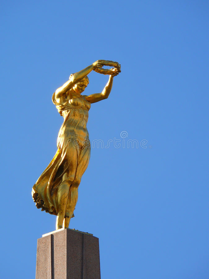 O monumento da relembrança em Luxembourg fotografia de stock royalty free