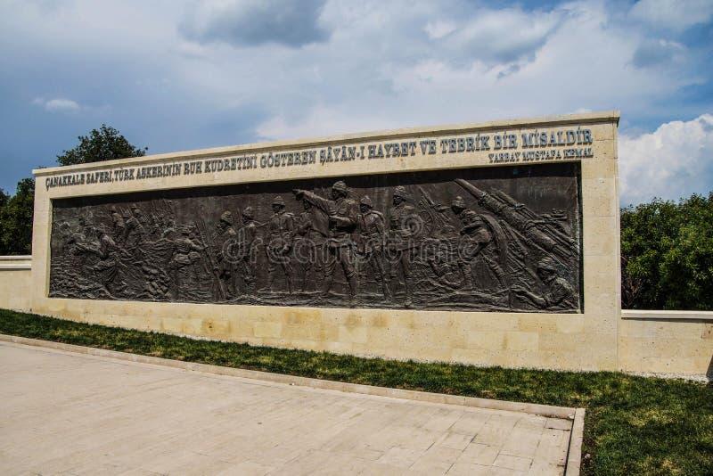 57.o monumento de la infantería fotografía de archivo libre de regalías