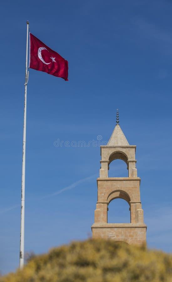 57.o monumento del regimiento de infantería en Gallipoli fotos de archivo