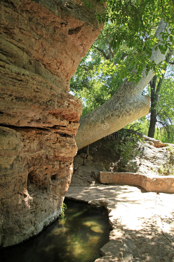 O monumento nacional bom de Montezuma imagem de stock royalty free