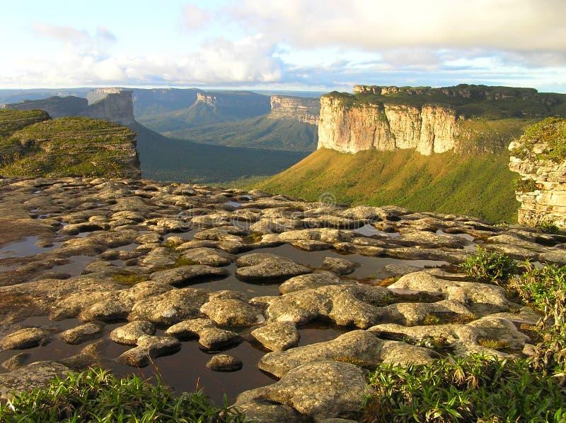 O Morro faz Pai Inacio no Chapada Diamantina, Baía, Brasil imagem de stock royalty free