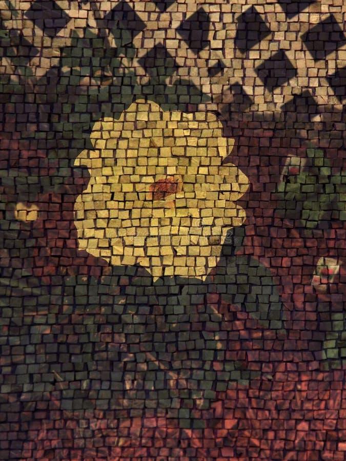 O mosaico aumentou fotografia de stock