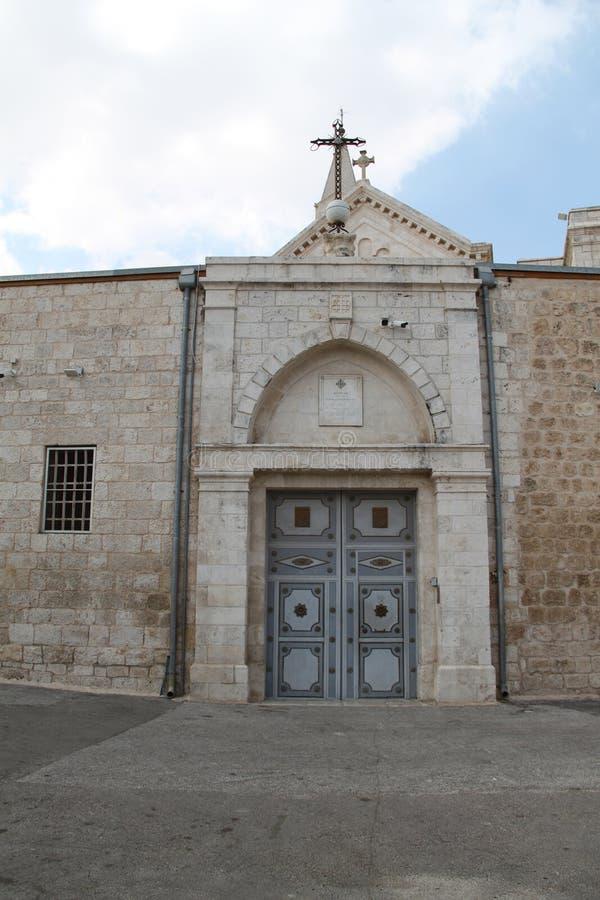 O mosteiro franciscano de São Nicodemus e José de Arimathea, Ramla, Israel foto de stock royalty free