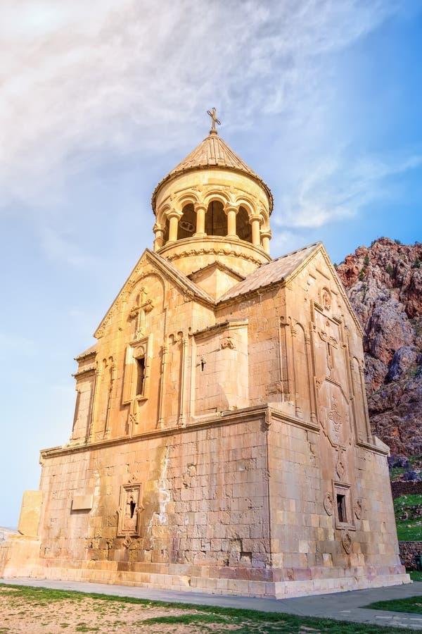 O mosteiro medieval de Noravank na Armênia imagem de stock royalty free
