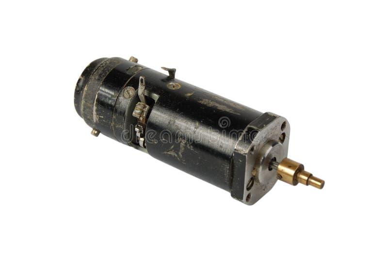 O motor elétrico velho foto de stock