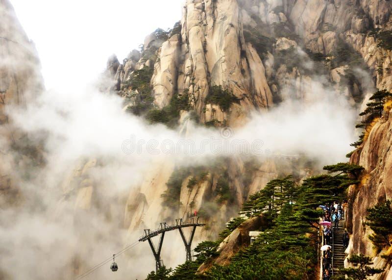 O Mount Tai de China imagem de stock