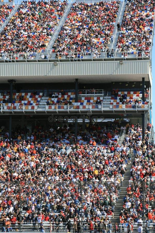 O mundo colorido de NASCAR fotografia de stock