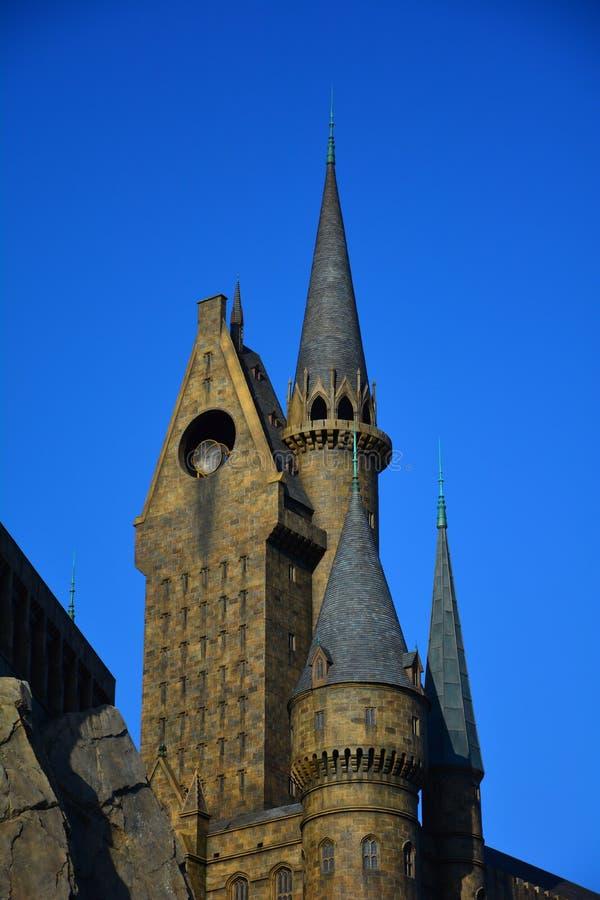 O mundo de Wizarding de Harry Potter no estúdio universal, Osaka fotografia de stock