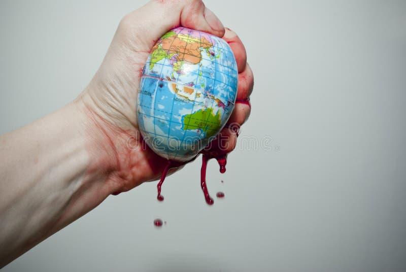 O mundo sob a pressão fotos de stock royalty free