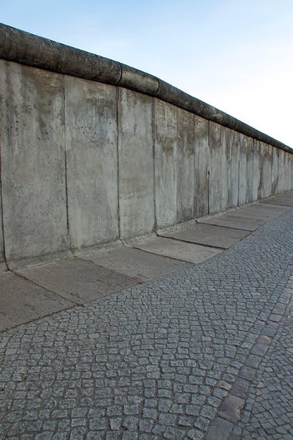O muro de Berlim imagem de stock