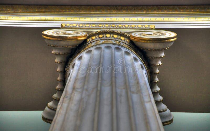 O museu arqueológico nacional, Atenas, Grécia foto de stock royalty free