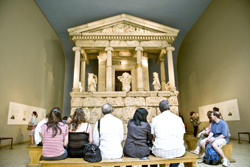 O museu britânico imagens de stock