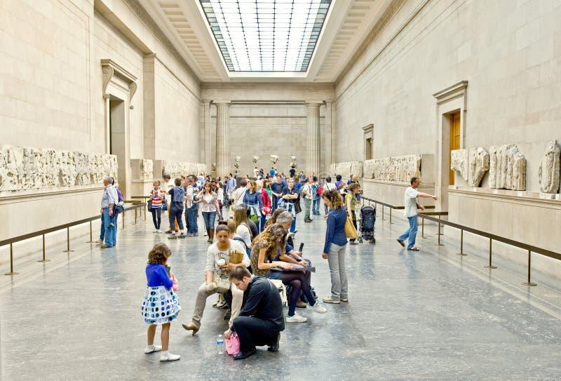O museu britânico fotografia de stock