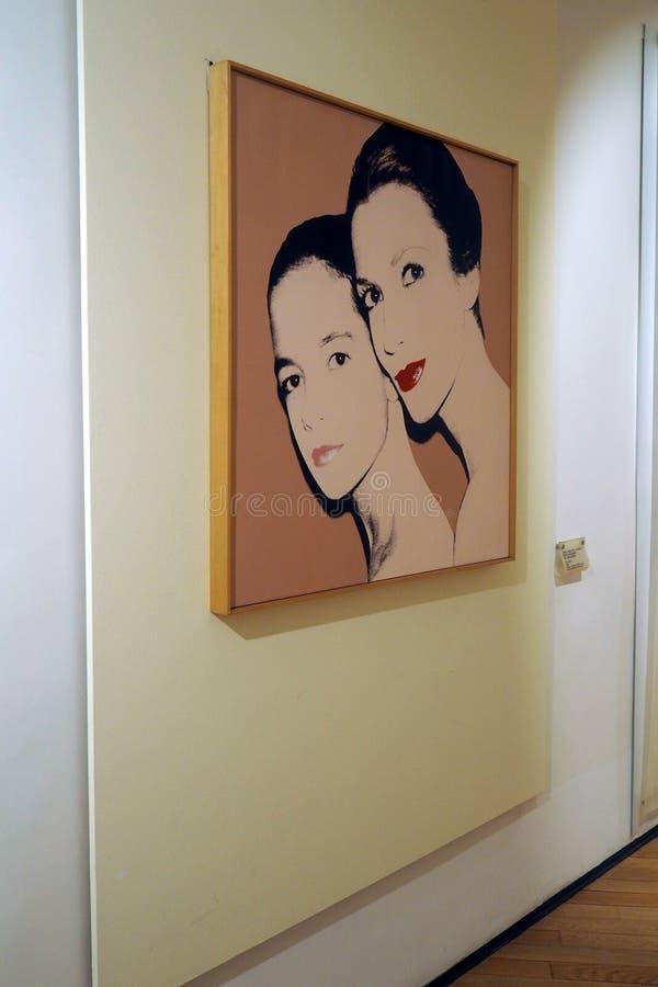 O museu Carlo Bilotti para a arte contemporânea em Roma, Itália fotos de stock