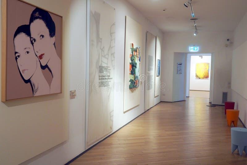 O museu Carlo Bilotti para a arte contemporânea em Roma, Itália fotografia de stock