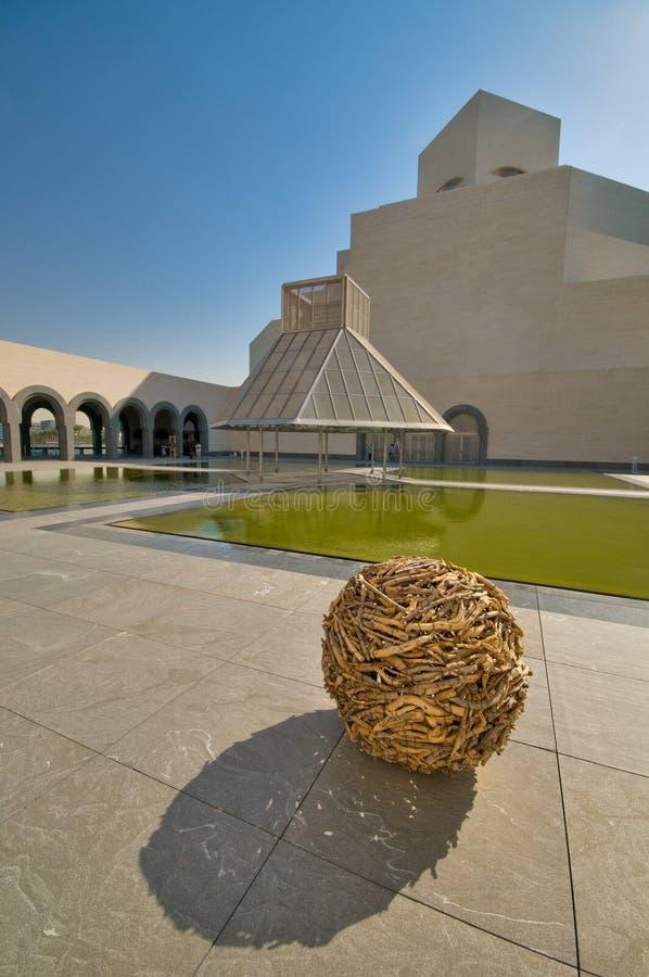 O museu da arte islâmica imagem de stock