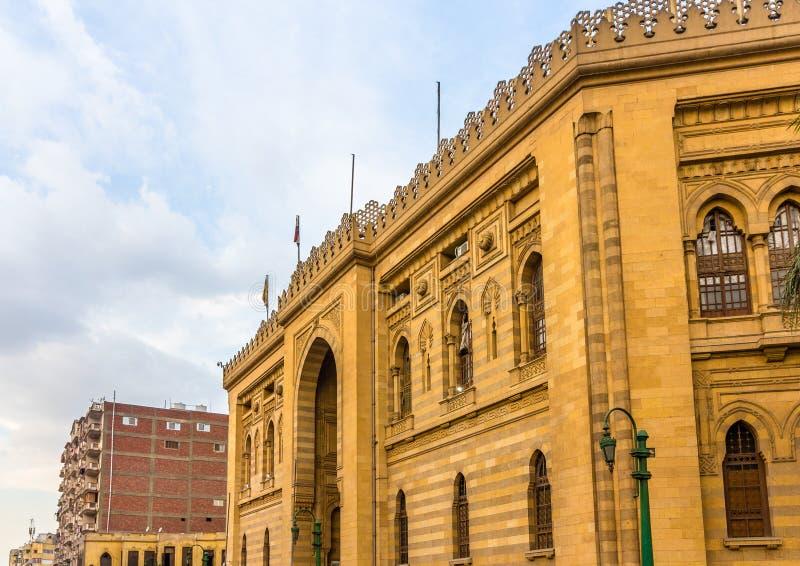 O museu da arte islâmica no Cairo foto de stock