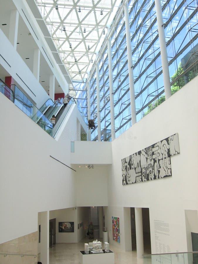 O museu da arte latino-americano MALBA Buenos Aires Argentina imagem de stock royalty free