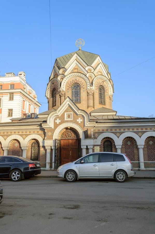 O museu da pedra em Saint-Peterburg imagens de stock