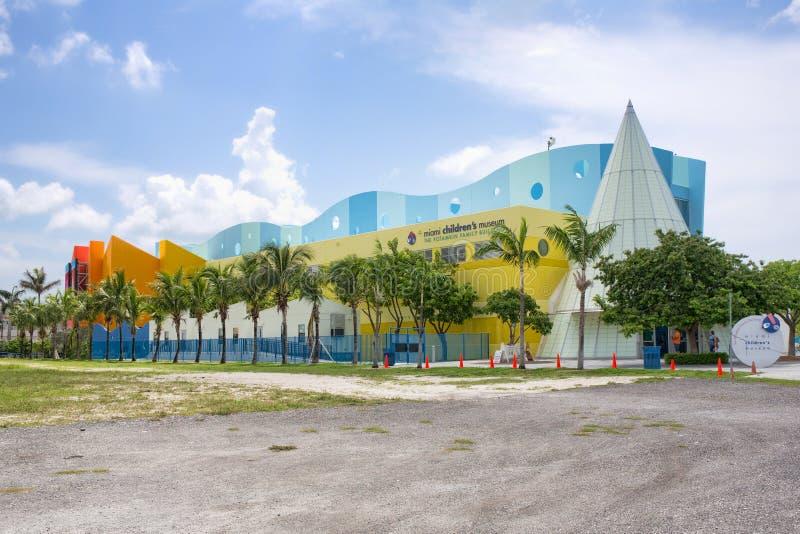 O museu das crianças de Miami foto de stock