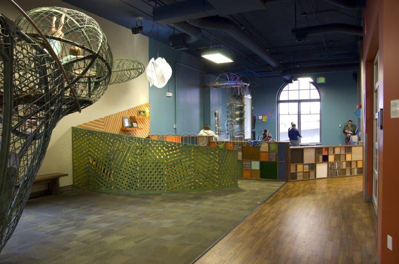 O museu das crianças de Tacoma foto de stock royalty free
