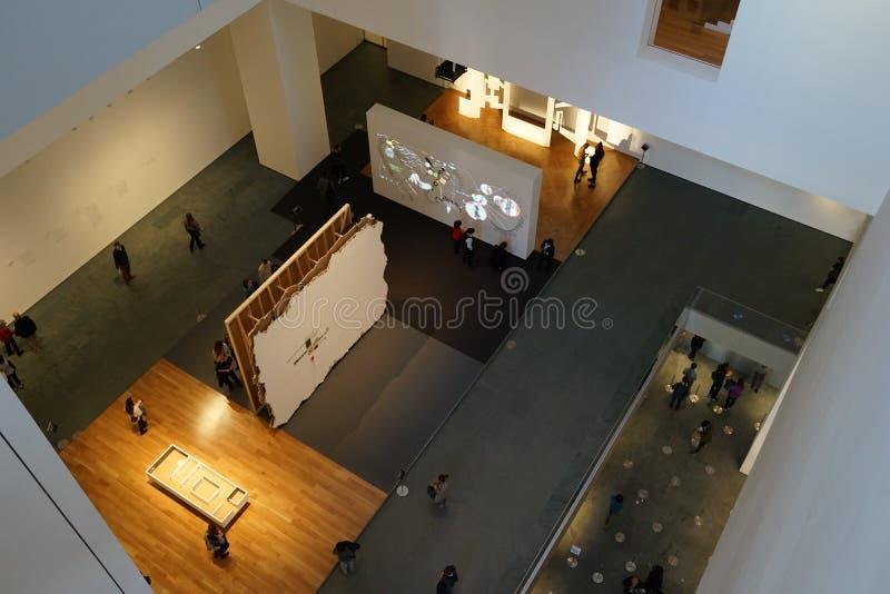 O museu de Art October moderno 2015 1 foto de stock royalty free