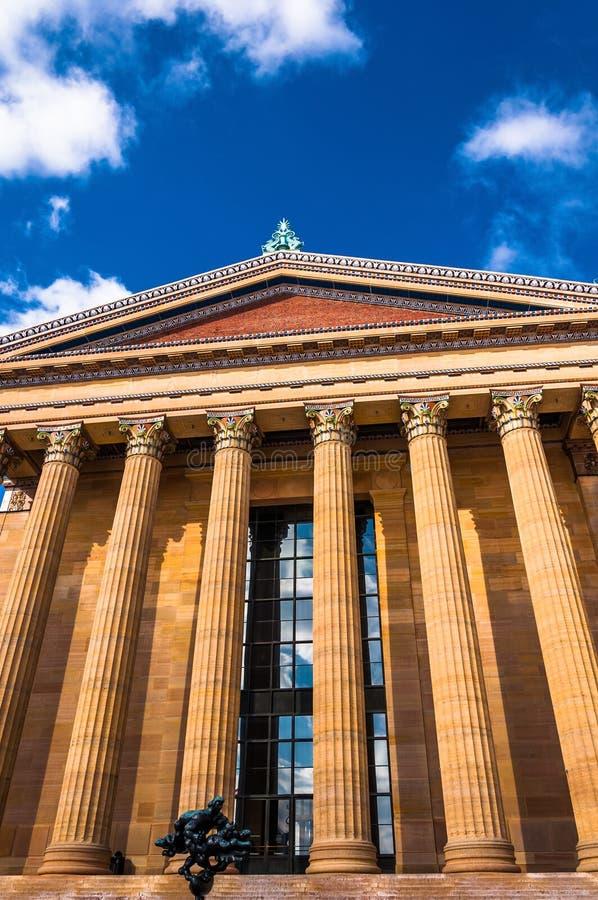 O museu de arte de Philadelphfia imagens de stock royalty free