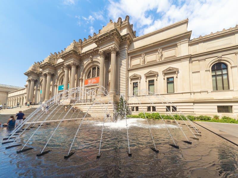 O museu de arte metropolitano em New York imagens de stock
