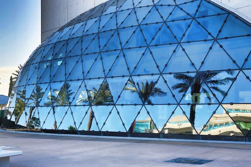 O museu de Dali fotos de stock