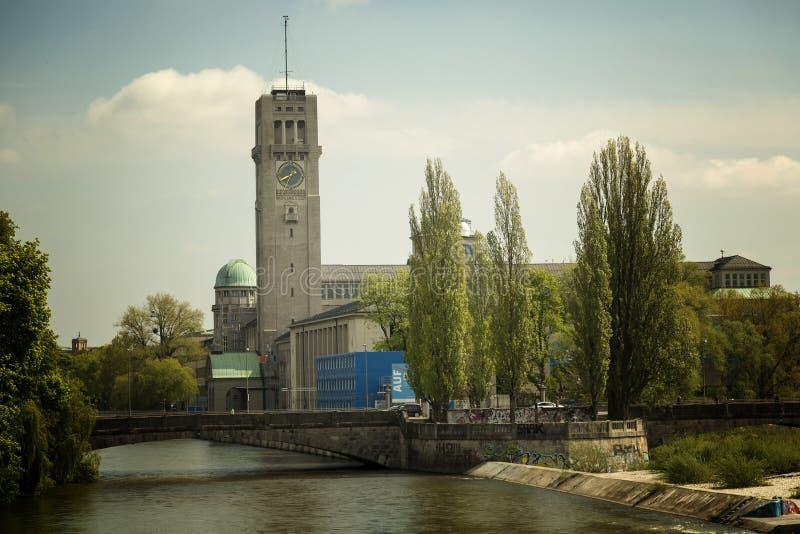 O museu de Deutsches em Munich imagem de stock