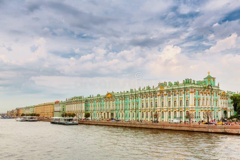 O museu de eremitério do estado em St Petersburg fotografia de stock royalty free
