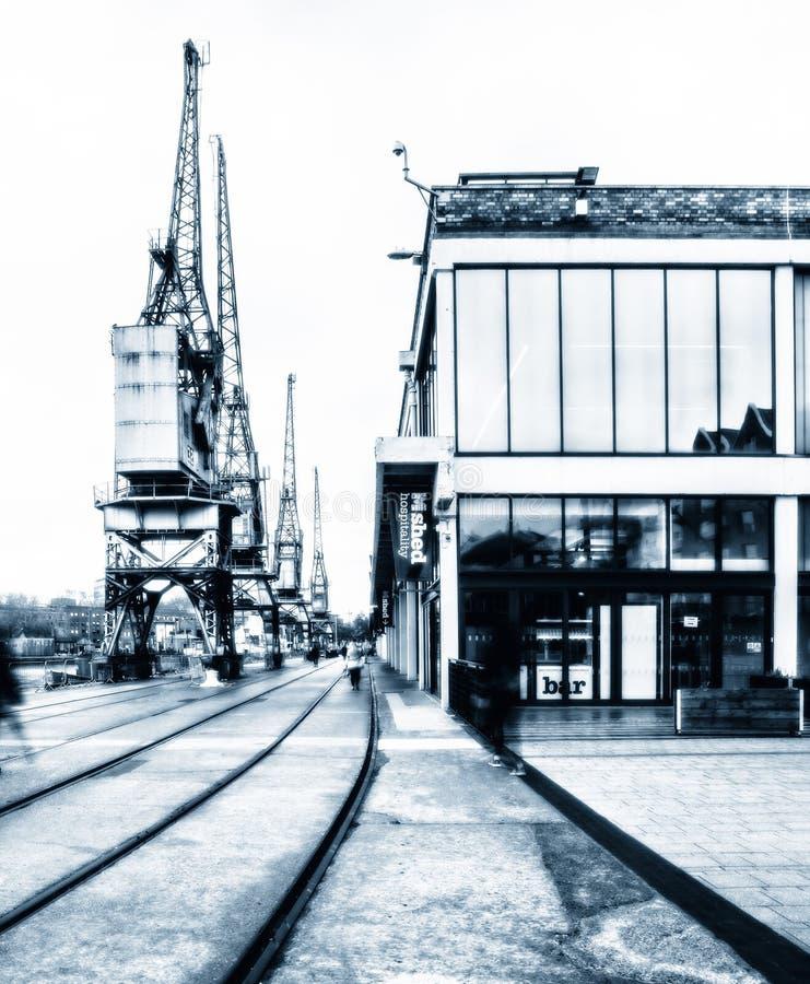 O museu de M Shed de Bristol Life imagens de stock