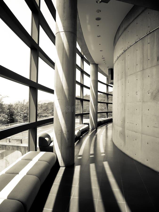 O museu de Tadao Ando fotos de stock royalty free