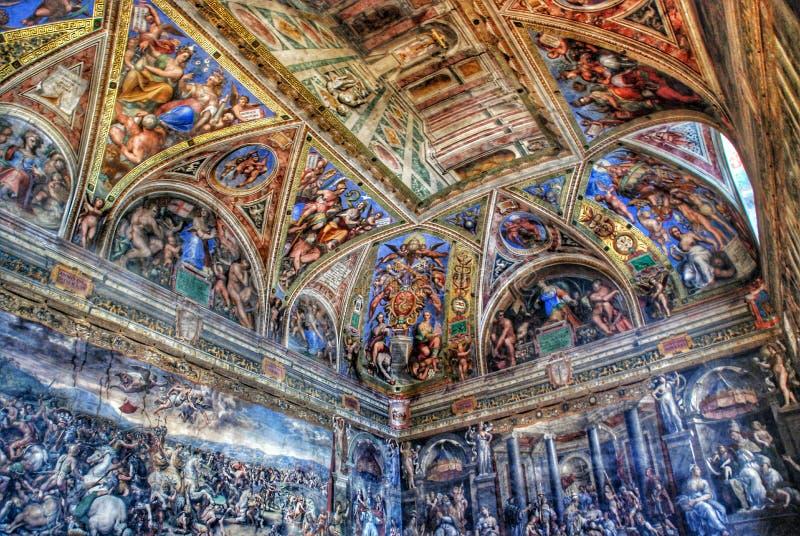 O museu de Vatican imagem de stock