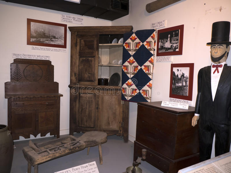 O museu do Appalachia, Clinton, Tennesee, EUA imagens de stock royalty free